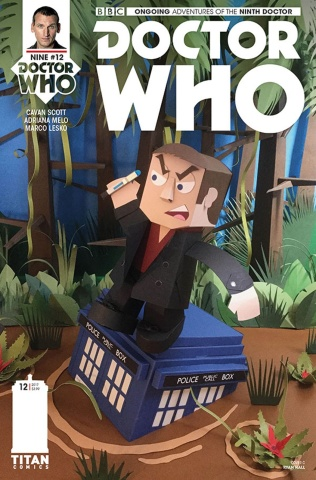 Doctor Who: New Adventures with the Ninth Doctor #12 (Papercraft Cover)