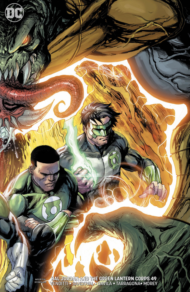 Hal Jordan and The Green Lantern Corps #49 (Variant Cover)