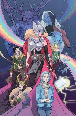The Mighty Thor #8 (Sauvage Story Thus Cover)