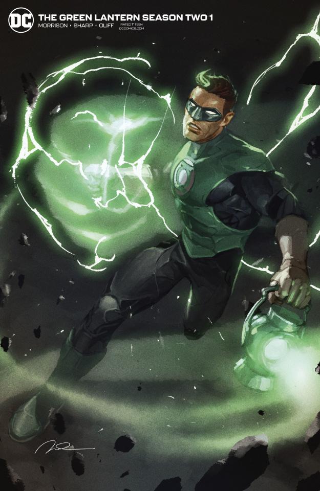 Green Lantern, Season 2 #1 (Gerald Parel Cover)