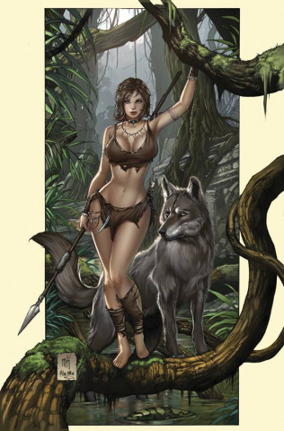 Grimm Fairy Tales: The Jungle Book - Fall of the Wild #1 (Krome Cover)