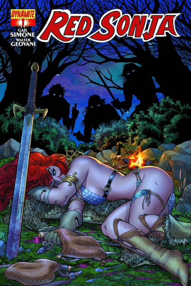Red Sonja #1 (Conner Cover)