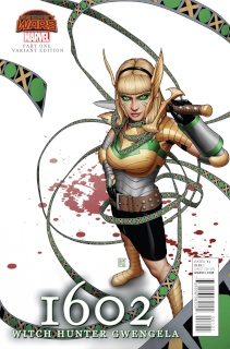 1602: Witch Hunter Angela #1 (Gwengela Cover)