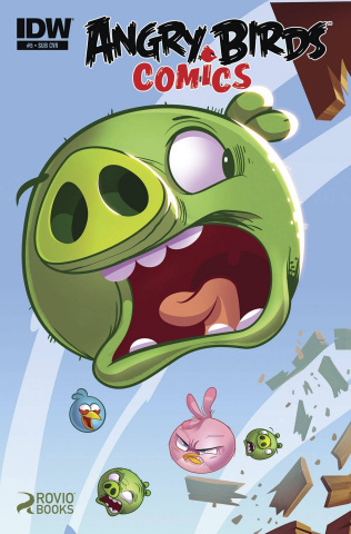 Angry Birds Comics #5 (Subscription Cover)