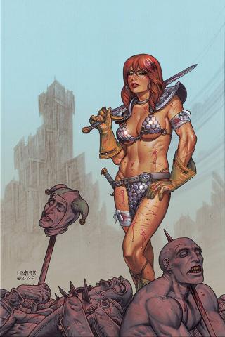 Red Sonja #23 (Linsner Virgin Cover)