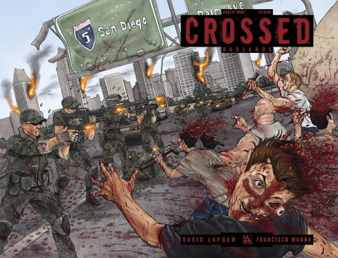 Crossed: Badlands #67 (Wrap Cover)