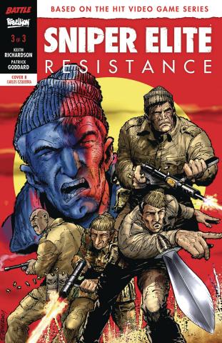 Sniper Elite: Resistance #3 (Ezquerra Cover)