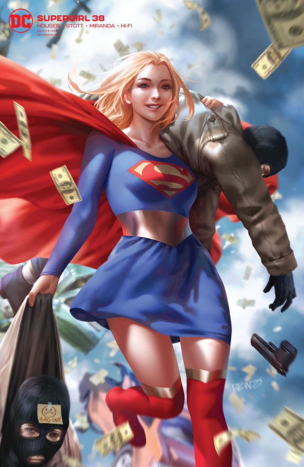 Supergirl #38 (Card Stock Cover)