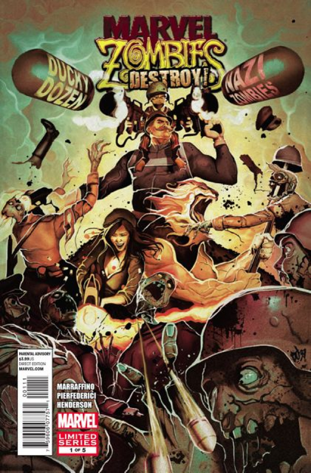 Marvel Zombies: Destroy #1