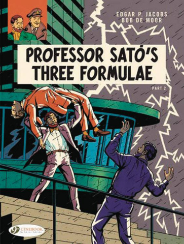 The Adventures of Blake & Mortimer Vol. 23: Professor Sato's Three Formulae, Part 2