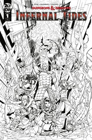 Dungeons & Dragons: Infernal Tides #1 (10 Copy Dunbar Cover)