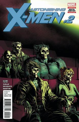 Astonishing X-Men #2 (2nd Printing Deodato Cover)