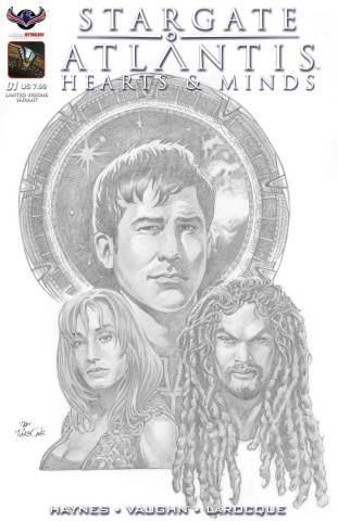 Stargate Atlantis: Hearts & Minds #1 (Photo Cover)