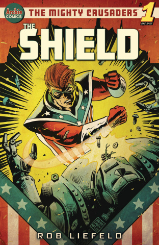 Mighty Crusaders: The Shield (Francavilla Cover)