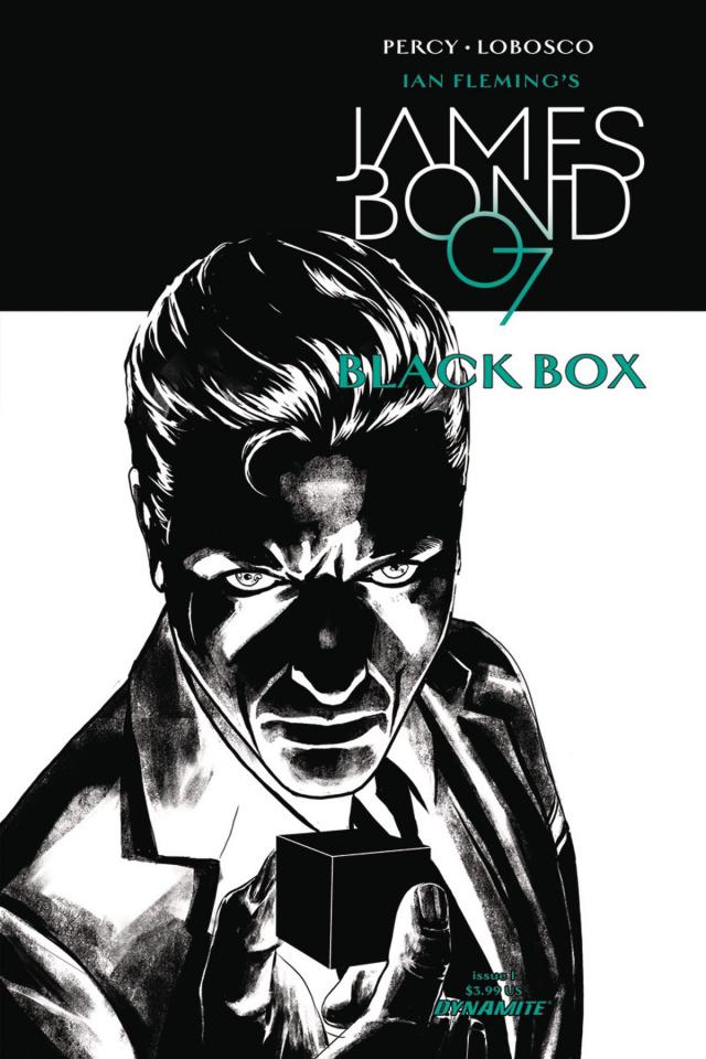 James Bond: Black Box #1 (20 Copy Masters B&W Cover)