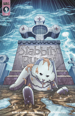 Stabbity Bunny #9 (Cover B)