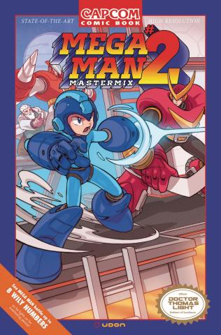 Mega Man: Mastermix #2 (Huang 10 Copy Cover)
