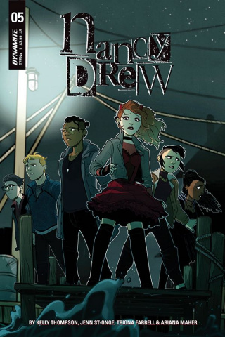 Nancy Drew #5 (St. Onge Cover)