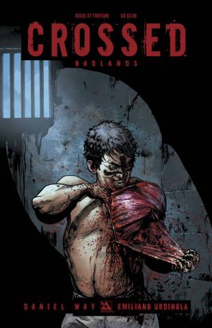 Crossed: Badlands #47 (Torture Cover)