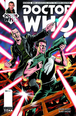 Doctor Who: New Adventures with the Ninth Doctor #4 (Shedd Cover)