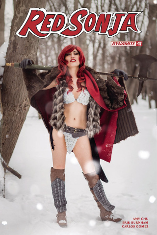 Red Sonja #17 (Cosplay Cover)