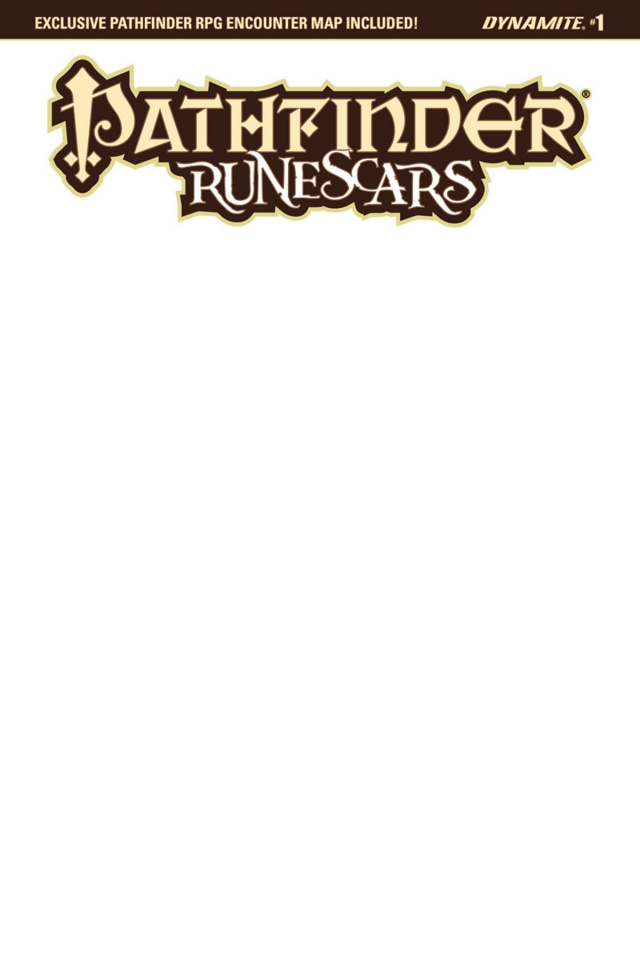 Pathfinder: Runescars #1 (Blank Authentix Cover)