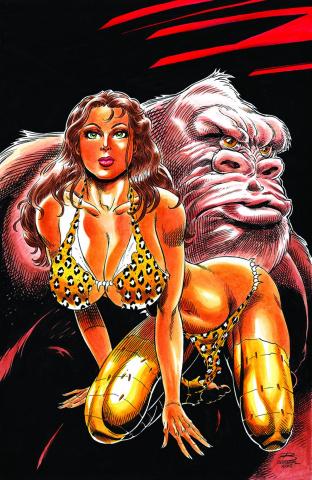 Cavewoman: The Return #3 (Durham Cover)