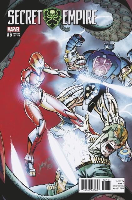 Secret Empire #6 (J.S. Campbell Cover)