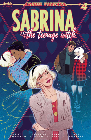 Sabrina, The Teenage Witch #4 (Fish Cover)