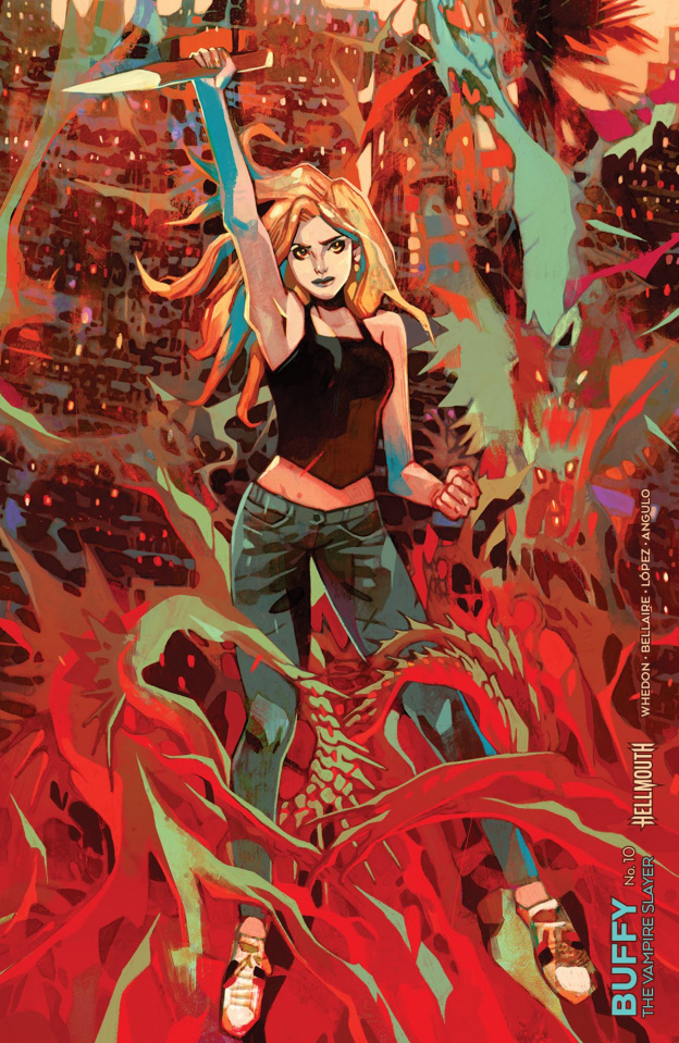 Buffy the Vampire Slayer #10 (Connecting Rebelka Cover)