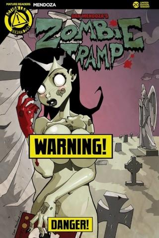 Zombie Tramp #20 (Mendoza Risque Cover)