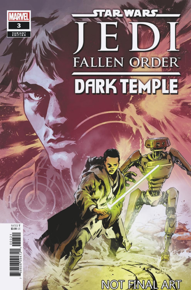 Star Wars: Jedi - Fallen Order, Dark Temple #3 (Villanelli Cover)
