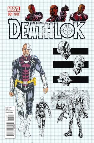 Deathlok #1 (Design Cover)