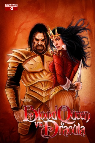 Blood Queen vs. Dracula #3 (Subscription Cover)