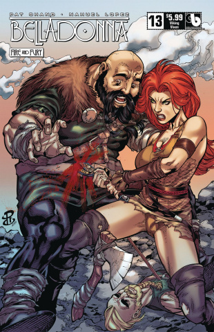 Belladonna: Fire and Fury #13 (Viking Vixen Cover)