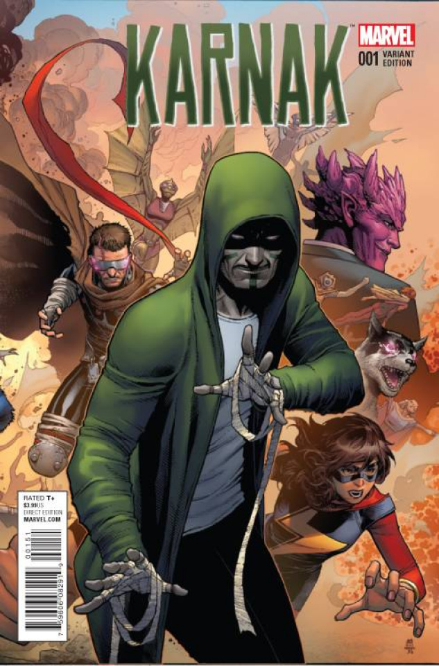 Karnak #1 (Cheung Connecting Cover)