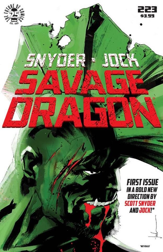 Savage Dragon #223 (April Fools Cover)