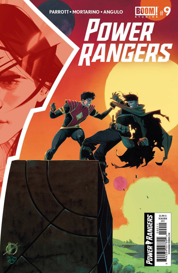 Power Rangers #9 (Scalera Cover)