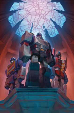 The Transformers #14 (Hernandez Cover)