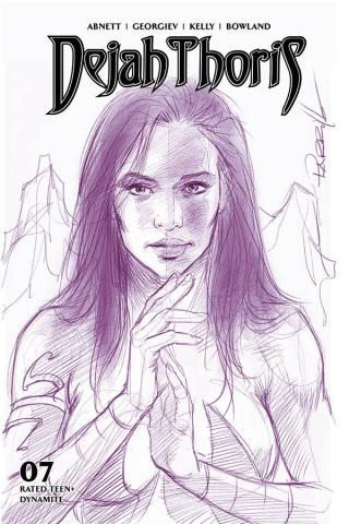 Dejah Thoris #7 (25 Copy Parrillo Tint Virgin Purple Cover)
