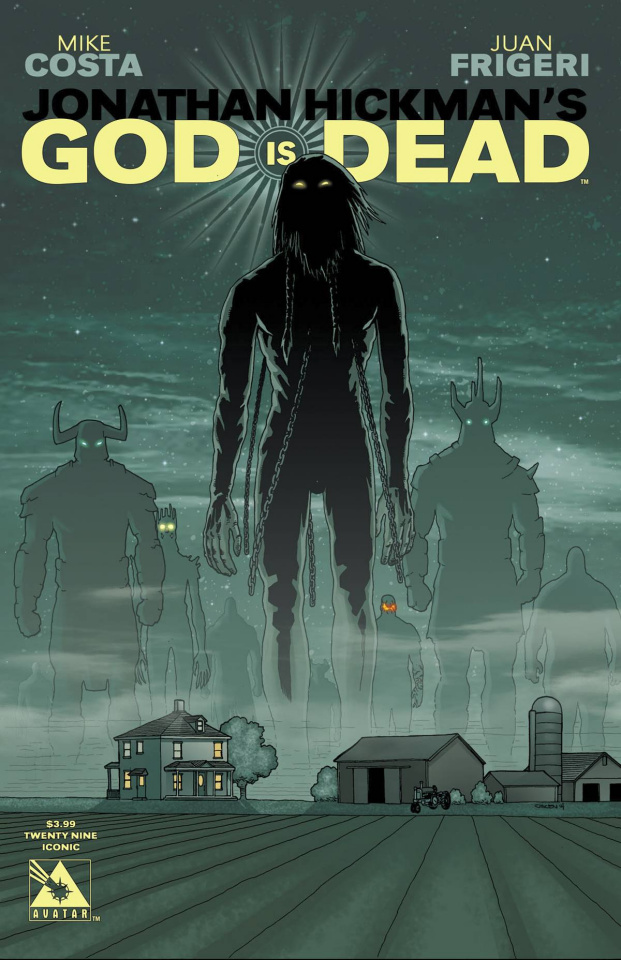 God Is Dead #29 (Iconic Cover)