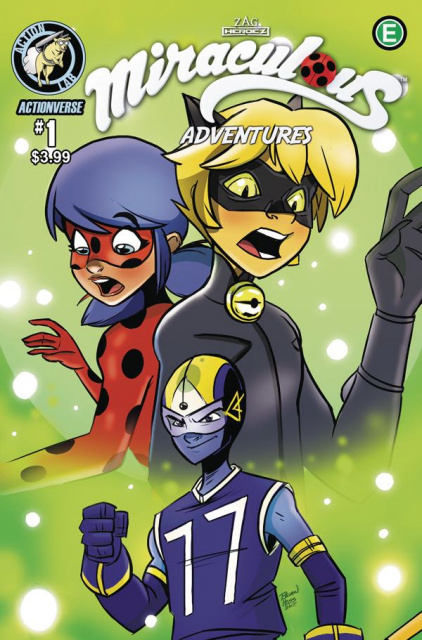 Miraculous Adventures #1 (Hess Cover)