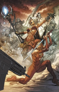 Grimm Fairy Tales: Realm War #3 (Laiso Cover)