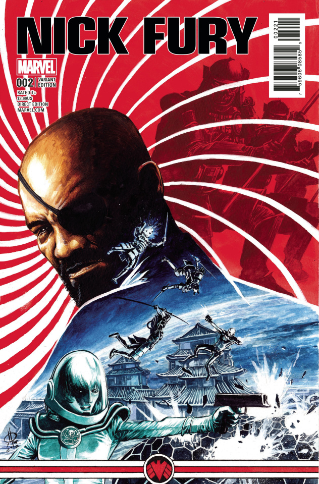 Nick Fury #2 (Rudy Cover)