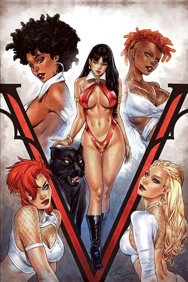Sacred Six #3 (10 Copy Chatzoudis Virgin Cover)