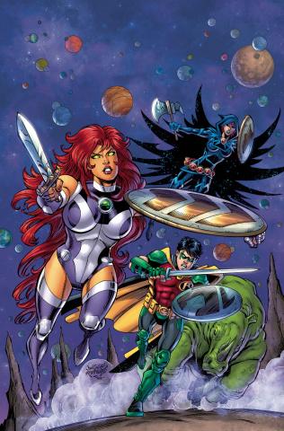 Titans: Burning Rage #7