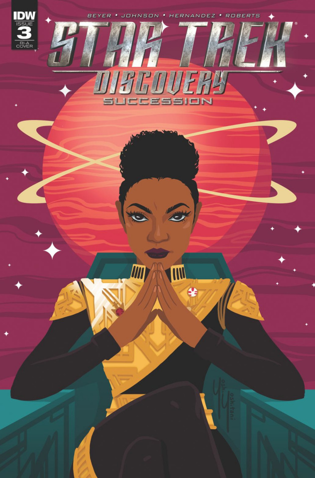 Star Trek: Discovery - Succession #3 (10 Copy Cover)