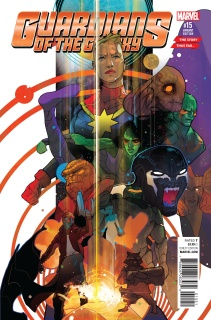 Guardians of the Galaxy #15 (Ward Story Thus Far Cover)