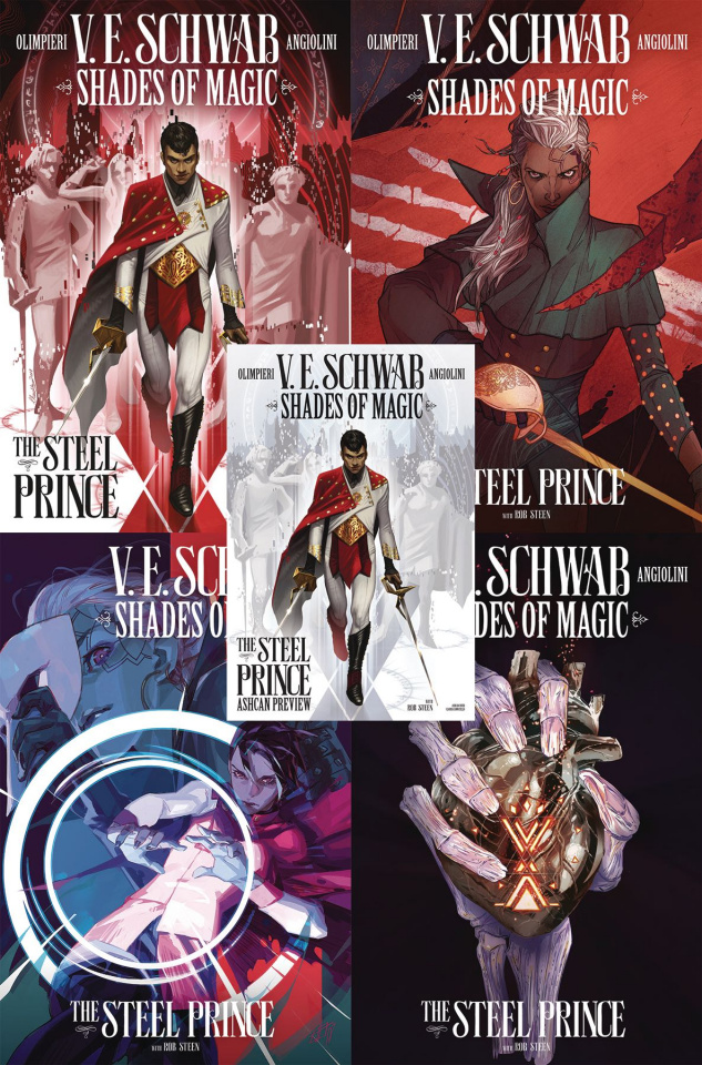 Shades of Magic Prince of Steel Pack