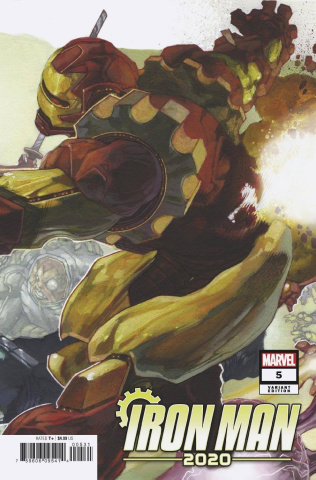 Iron Man 2020 #5 (Bianchi Connecting Cover)